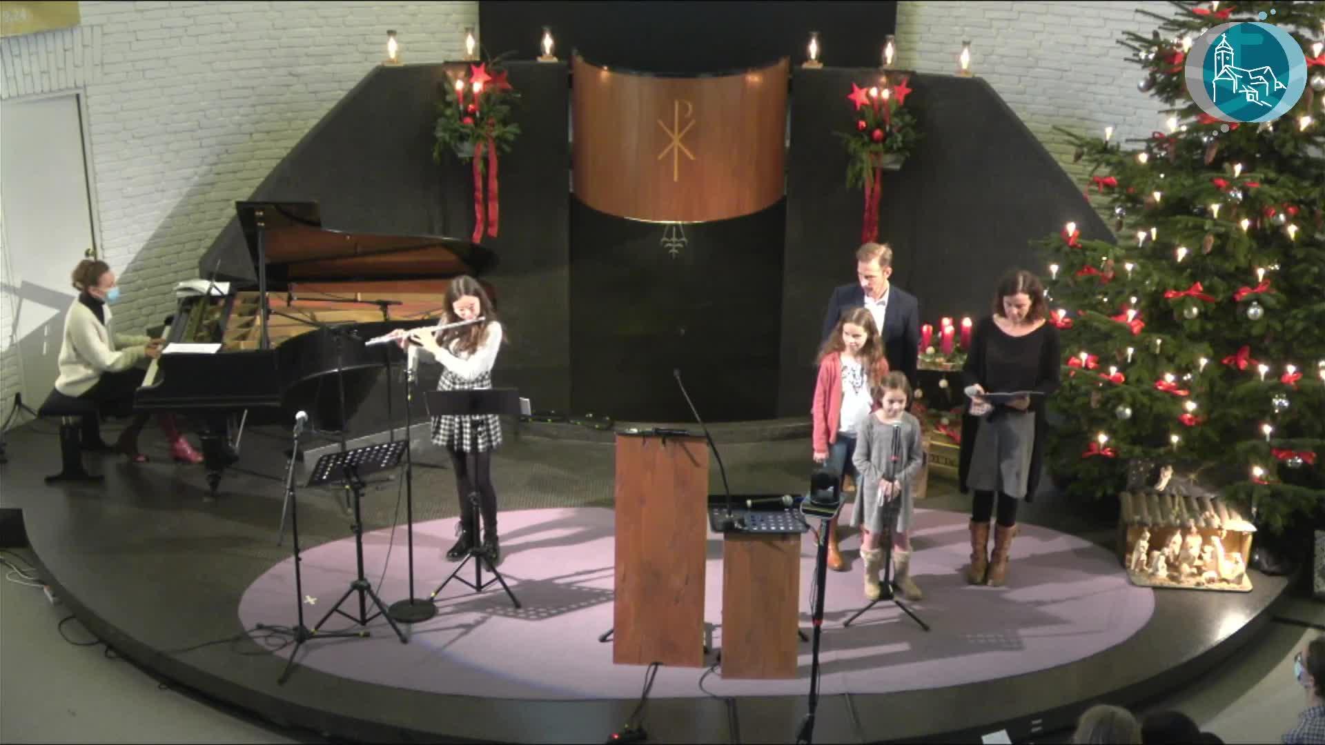 14:30 Uhr - Weihnachtsgottesdienst am 24. Dezember - Livestream aus der Christuskirche Altona