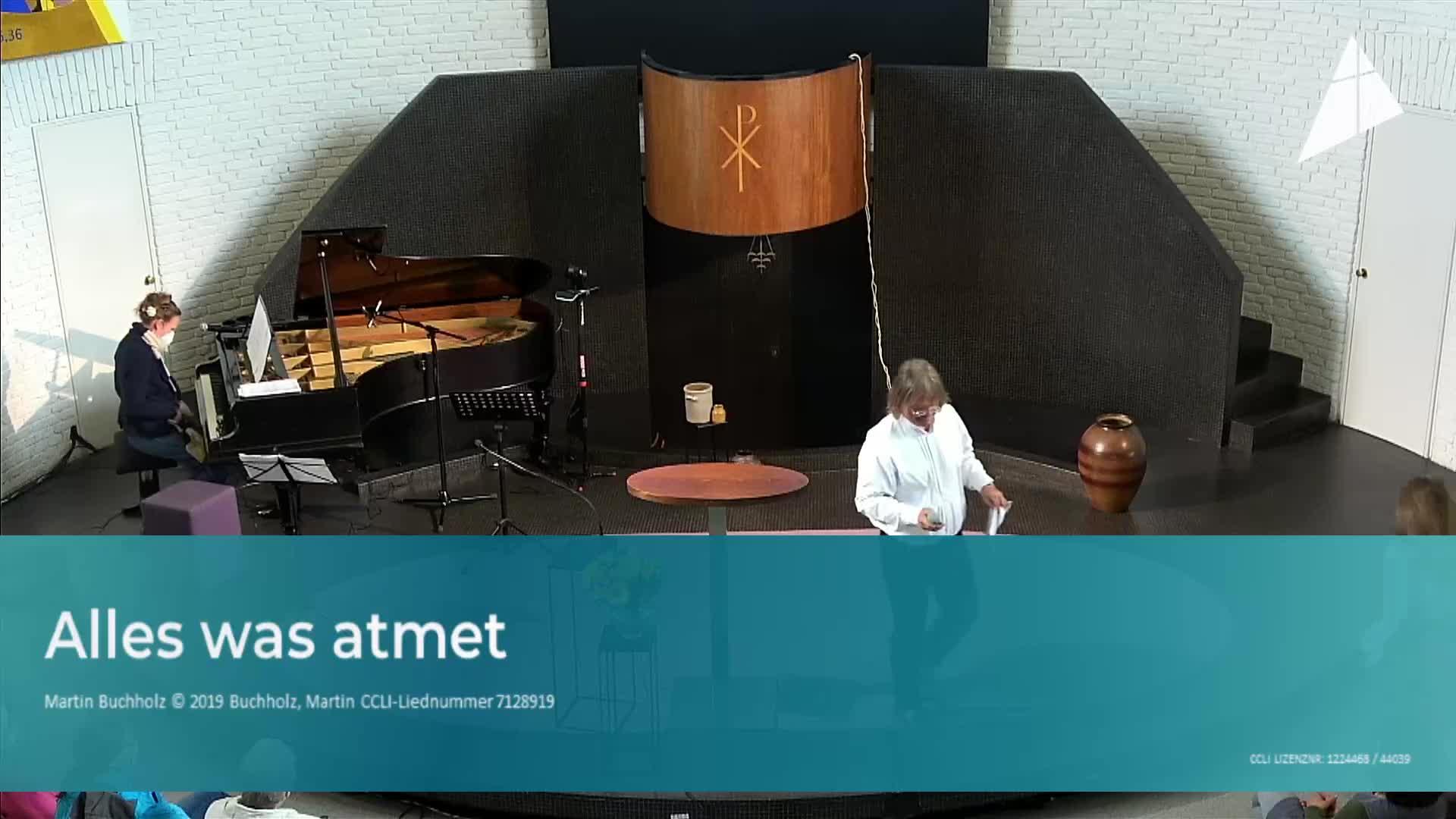Gottesdienst - am 16. Mai - Livestream aus der Christuskirche Altona on 16-May-21-09:26:14