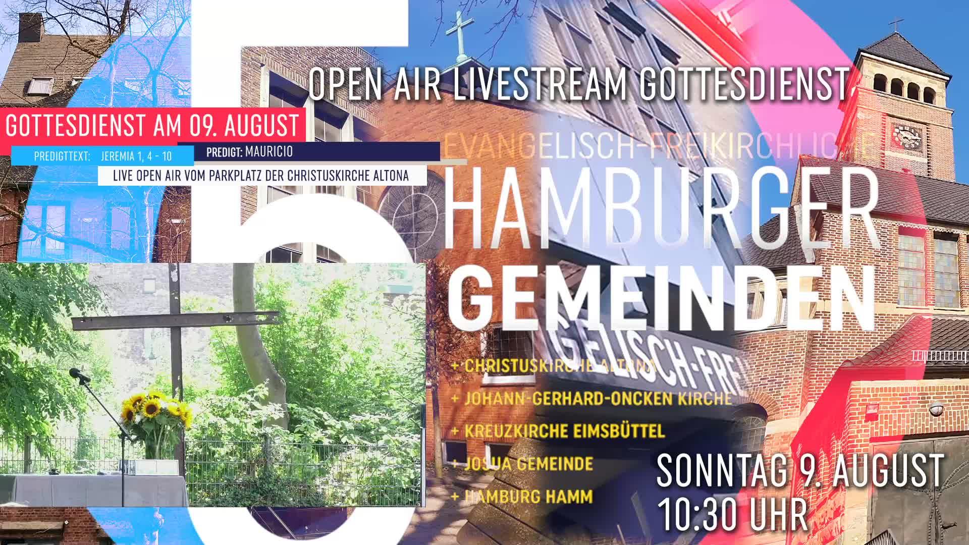 OpenAir Gottesdienst vom 9. August 2020 (Aufzeichnung) - 5 Hamburger Baptisten Gemeinden